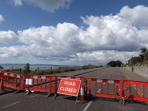 East Overcliff Drive closed