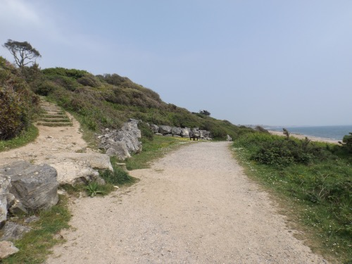 Highcliffe's coast path could be lined by mixed design overnight huts